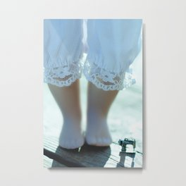 Alice's Escapades ~ Alice & The Sewing Machine  Metal Print
