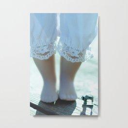 Alice's Escapades ~ Alice & The Sewing Machine Metal Print