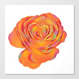 PSYCHEDELIC ROSE Canvas Print