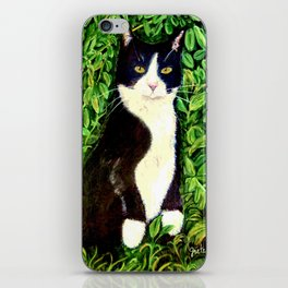 Kitty in the Woods iPhone Skin