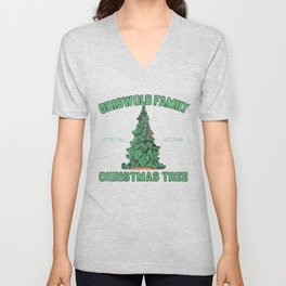 Griswold Family Christmas Tree Vintage Unisex V-Neck
