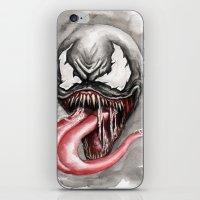 venom iPhone & iPod Skins featuring venom by rchaem