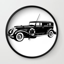 vintage car Wall Clock