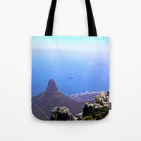 south africa Tote Bags featuring South Africa Impression 9 by Art-Motiva