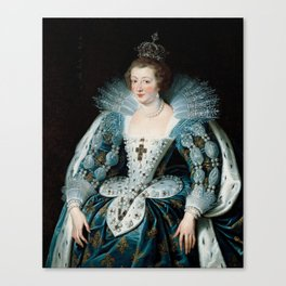 Royal Portrait Queen Anna Canvas Print