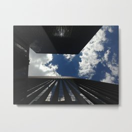 New York City from Down Low Metal Print