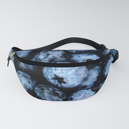 Blueberries background Fanny Pack