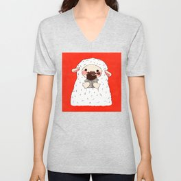 Chocolate Lamb Unisex V-Neck