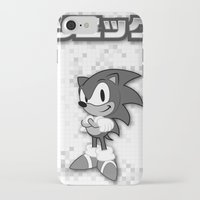 sonic iPhone & iPod Cases featuring Sonic by Small Worlds