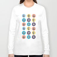 insects Long Sleeve T-shirts featuring VINTAGE INSECTS by Jasmijn Evans