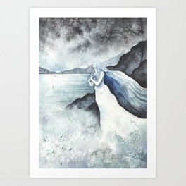 Banshee (collab with LualaDy) Art Print