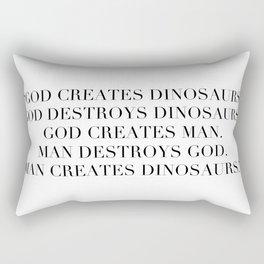 Jurassic Park Rectangular Pillow