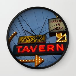 Chicken to go Wall Clock
