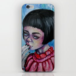 The Girl with Silver Hands  iPhone Skin