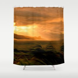Clearing Squall Shower Curtain