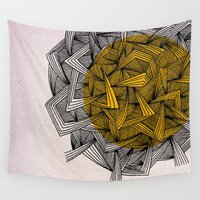 escher Wall Tapestries featuring - cosmos_01 - by Magdalla Del Fresto
