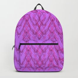 Luxury summer Ornaments PINK Backpack