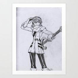 Haruko Art Print