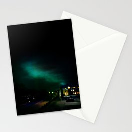 Northern Lights in Tromso Stationery Cards