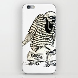 misspaul EVER REST BAND 2 iPhone Skin