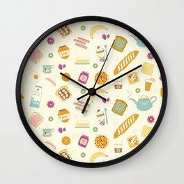 Who else loves breakfast? Wall Clock