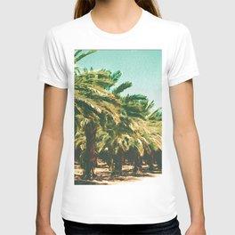 Coconut Tree Lineup T-shirt