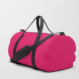 color ruby Duffle Bag