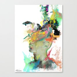 Orca Magic Canvas Print