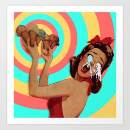 Too Sweet Art Print
