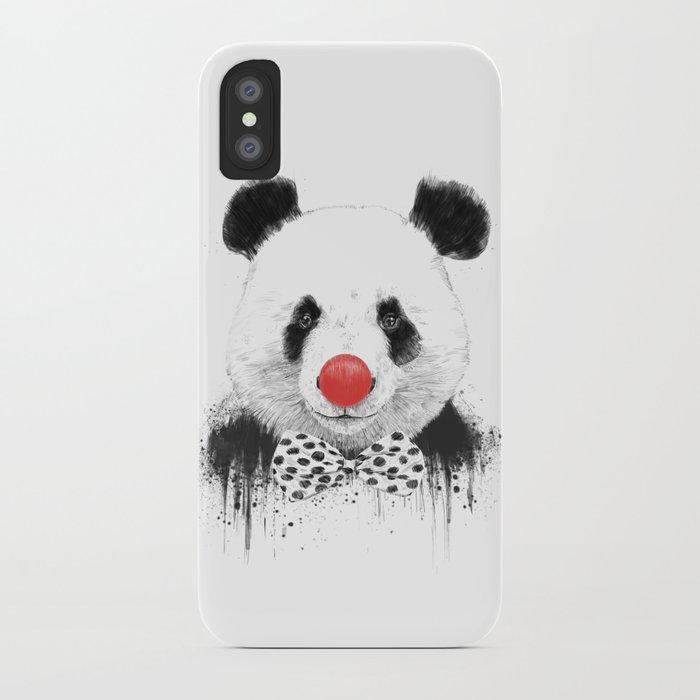 Clown panda iPhone Case