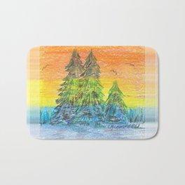 Prism Sunset Bath Mat
