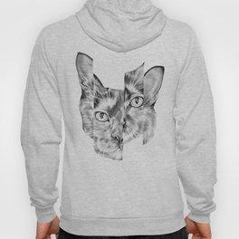 Kitty Split Hoody