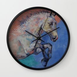 Graceful Jets Wall Clock