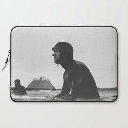 Surfing La Push, Washington USA Laptop Sleeve