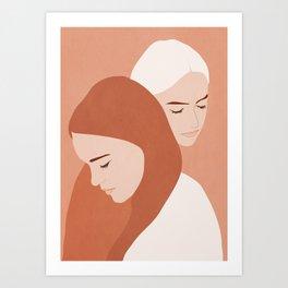 Girls 2 Art Print
