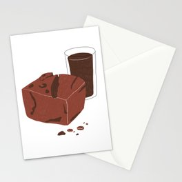 Double Chocolate Stationery Cards