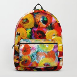 Aboriginal Art - Finger Painting Backpack