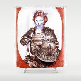 Ona Bugeisha Shower Curtain