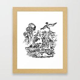 Monterey Bay Framed Art Print