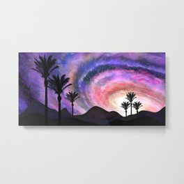 Desert Sunset 3 Metal Print