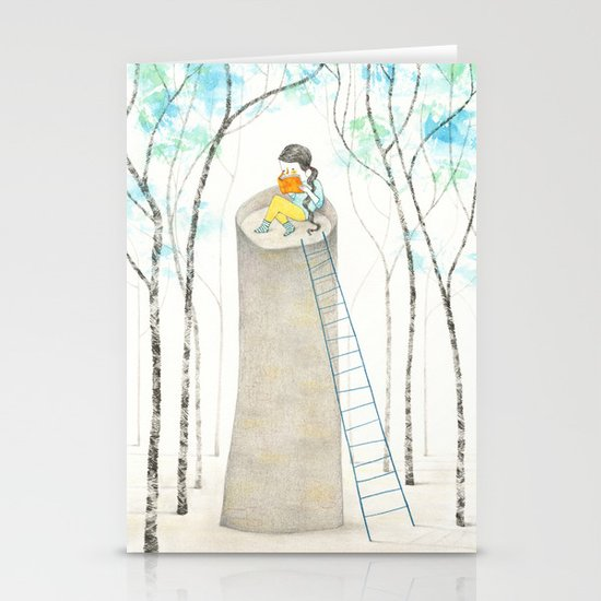 A different Rapunzel Stationery Cards