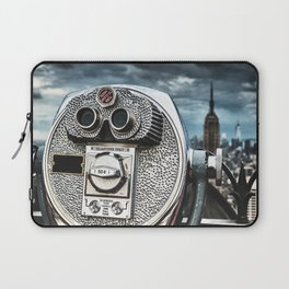 view from top of the rock Laptop Sleeve