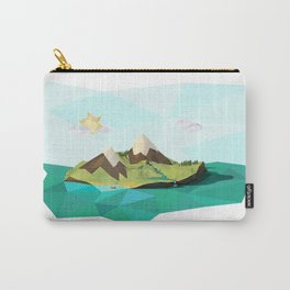Poly Island - Paper Island Carry-All Pouch