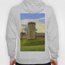 Warwick Castle (Painting) Hoody