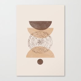 Boho Minimalistic Art Canvas Print