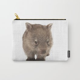 An adorable Australian wombat Carry-All Pouch