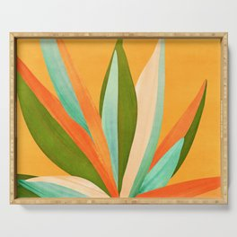 Summer Cactus Serving Tray