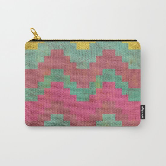 Aztec Vintage Pattern 01 Carry-All Pouch