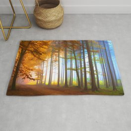 Ethereal Forest  Rug