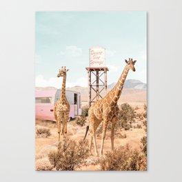 Desert Hot Springs Canvas Print